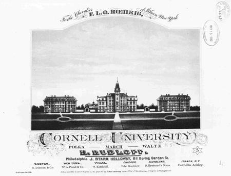 Cornell University defil ̌march