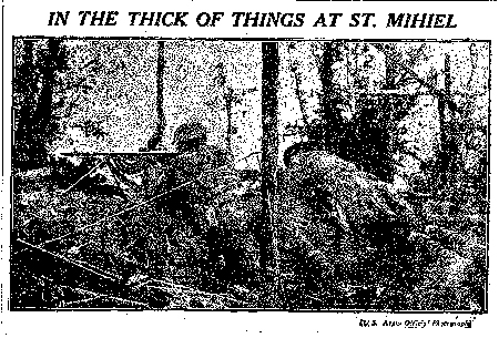 Image from The Stars and Stripes (Paris, France), September 27, 1918, Vol. 1 No. 34