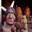 Cedar and wood carvings