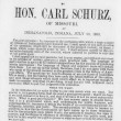 Today in History: Carl Schurz