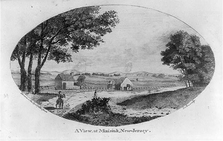 A view, at Minisink, New-Jersey
