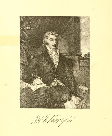 A biographical sketch of Robert R. Livingston