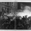 The Anarchist Riot in Chicago - A Dynamite Bomb exploding among the police