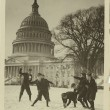 Featured Image: Senate page boys stage their first snow battle