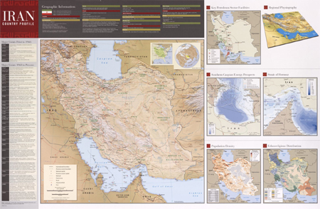 Iran country profile 2009