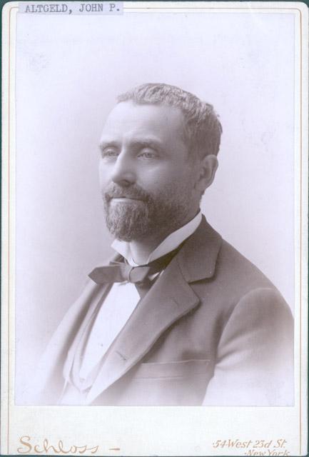 Altgeld, John P., portrait photograph
