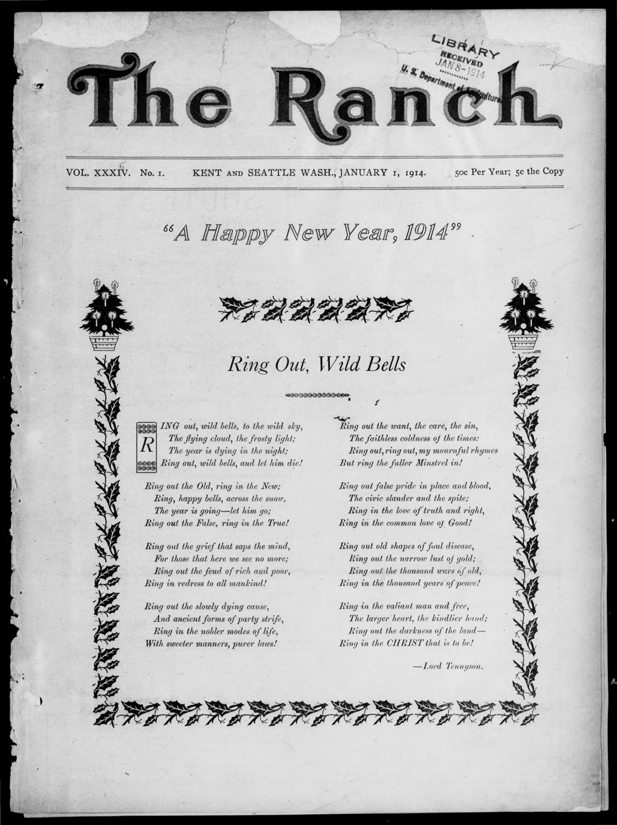 A Happy New Year, 1914