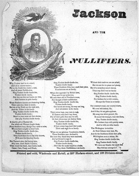 Jackson and the nullifiers
