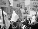 Ku Klux Klan members supporting Barry Goldwater's campaign for the presidential nomination
