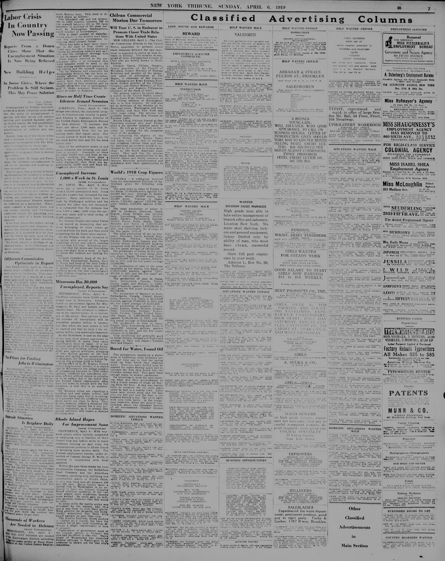 New-York tribune., April 06, 1919, Page 7