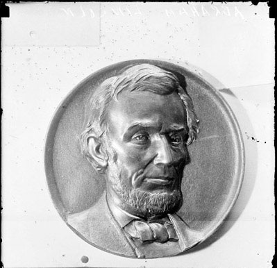 Plaque of Abraham Lincoln