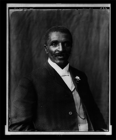 George Washington Carver, half-length portrait