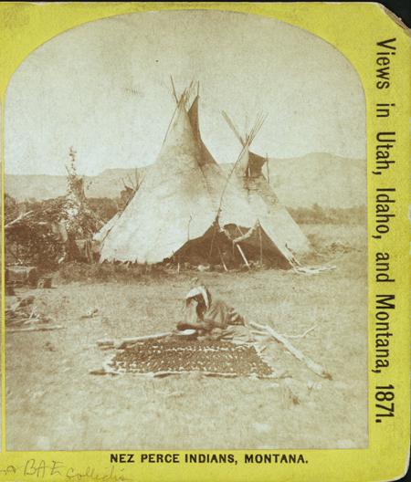 Nez Perce Indians, Montana