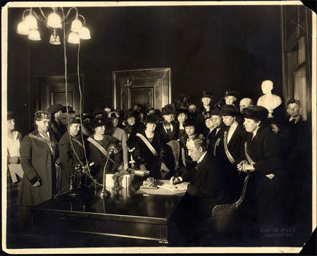 Primary Source Spotlight: Woman Suffrage