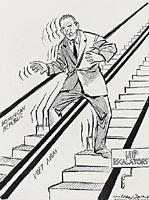 Up escalators