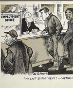 My last employment? Vietnam.