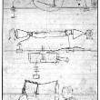 Alexander Graham Bell's design sketch of the telephone