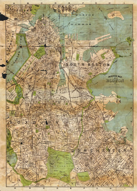 Indexed map of Boston