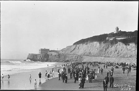 Beaches. Cliff House in San Francisco