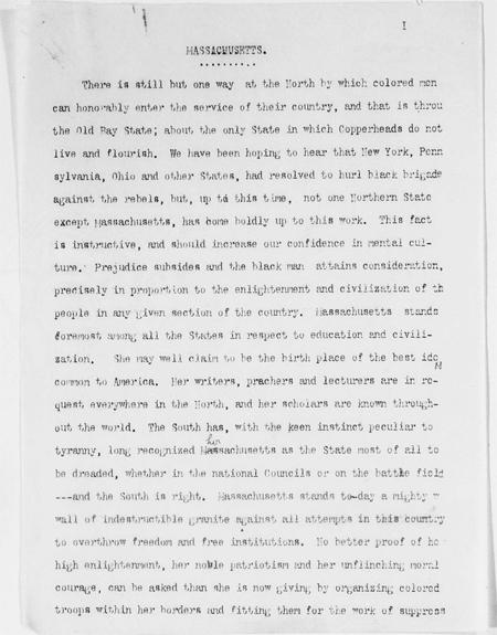 Massachusetts: Frederick Douglass