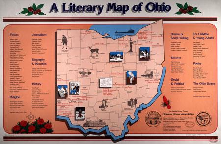 Literary Map of Ohio