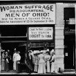 Woman suffrage headquarters in Upper Euclid Avenue, Clevelan