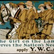 The girl on the land serves the nation's need Apply Y.W.C.A. Land Service Committee
