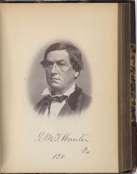 R.M.T. Hunter, Senator from Virginia