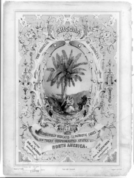 Chicora the original name of Carolina