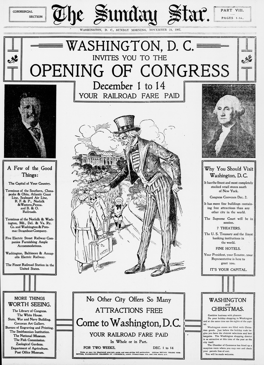 Washington D.C. Invites You to the Opening of Congress