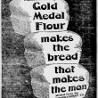 Featured Source: 1900 Gold Medal flour ad