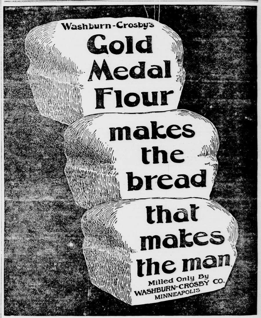 Gold Medal Flour Ad. New-York tribune. (New York [N.Y.]), 10 March 1900