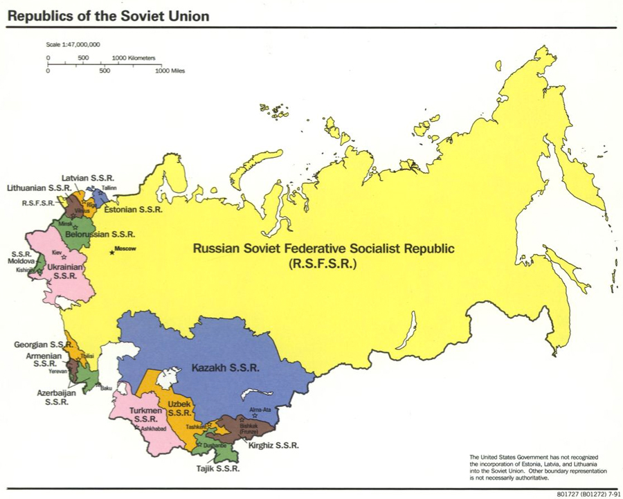 Featured Source: Republics of the Soviet Union