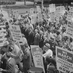 Civil rights march on Wash DC