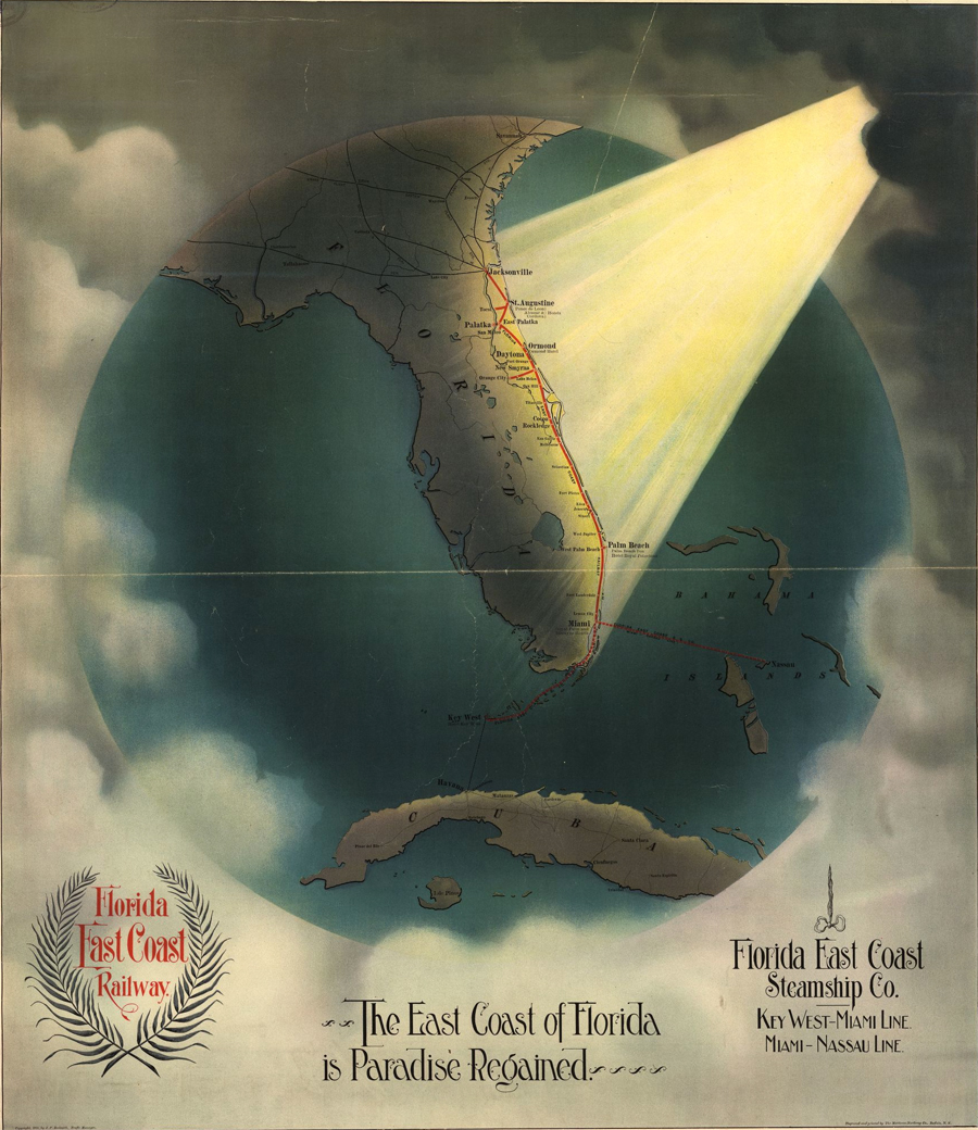 The east coast of Florida is paradise regained
