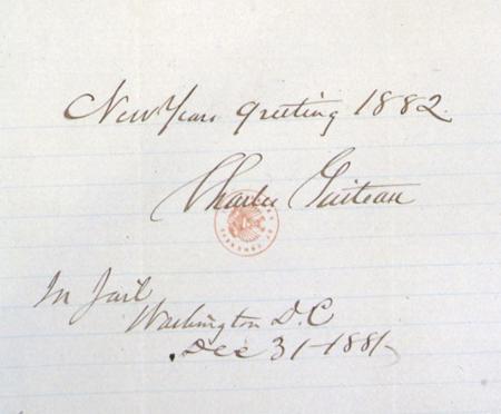 Guiteau letter