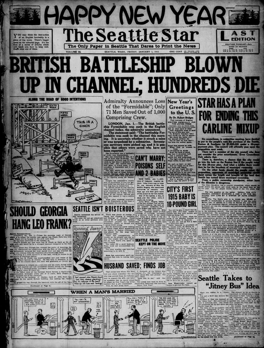 The Seattle star 01 Jan. 1915