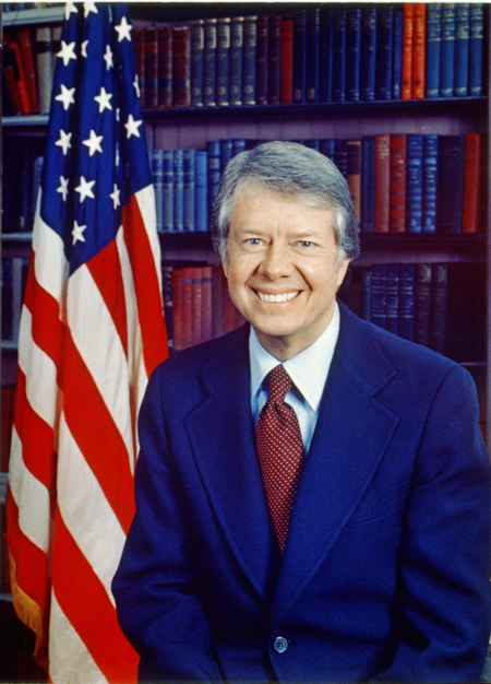 Jimmy Carter, head-and-shoulders portrait