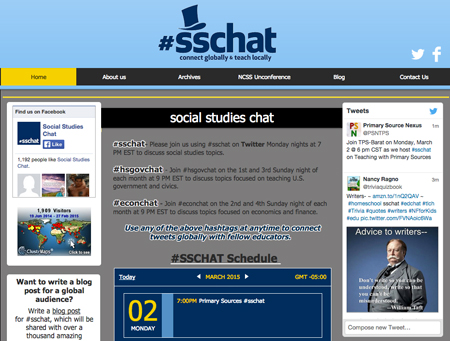 Teaching with Primary Sources Tweet Chat 2015 Archive