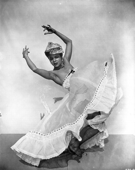Katherine Dunham in the ballet L'Ag'Ya