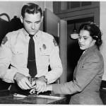 Woman Fingerprinted