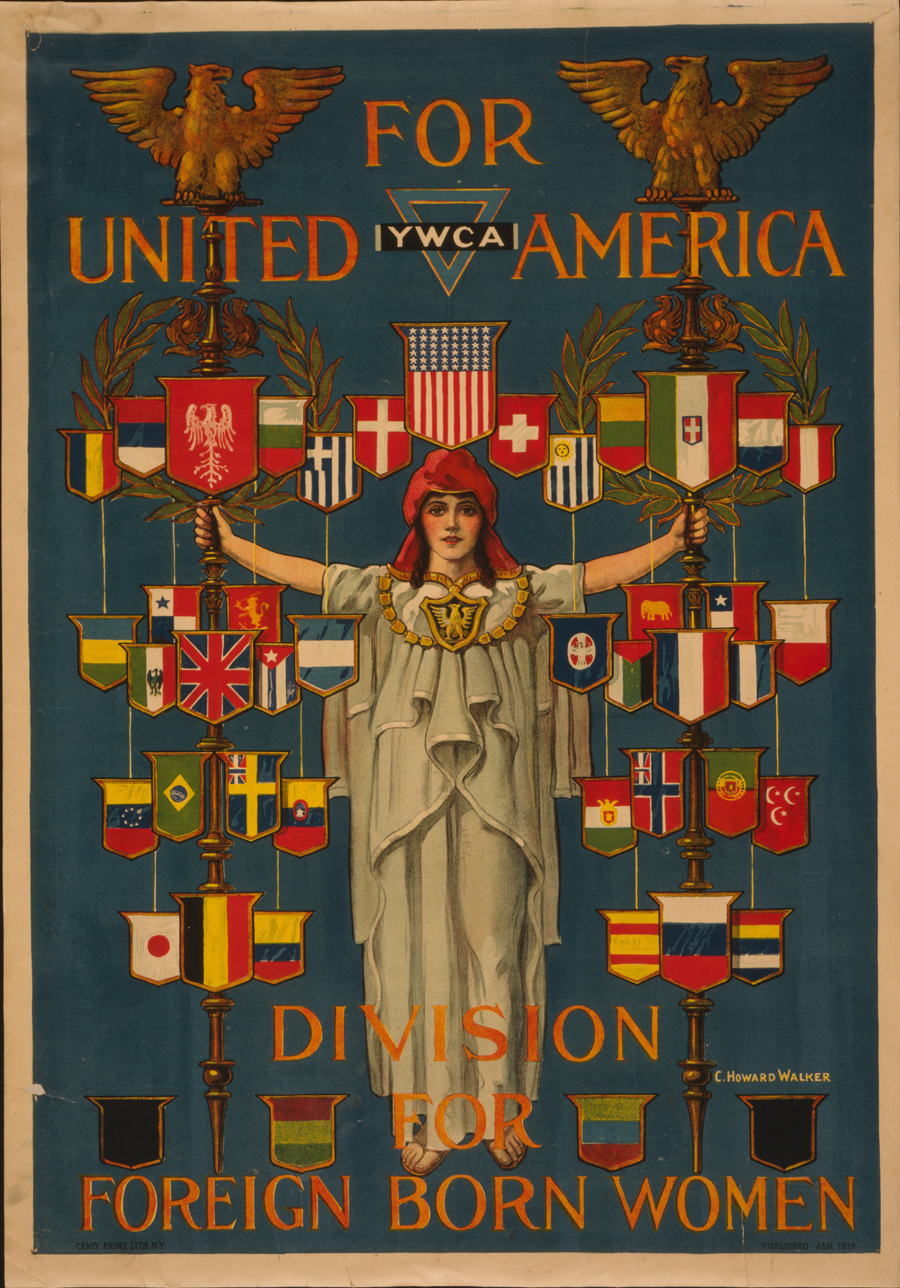For united America, YWCA
