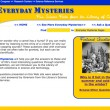 Finding Resources: Everyday Mysteries