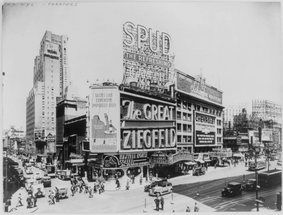 Featured Source: Astor Theatre – The Great Ziegfeld