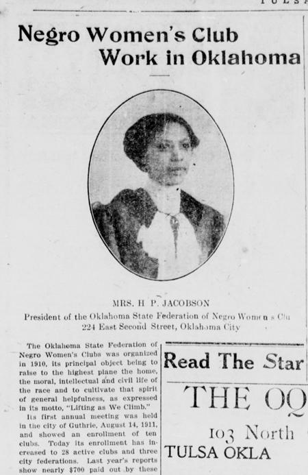 The Tulsa Star. (Tulsa, Okla.), 19 Aug. 1914.