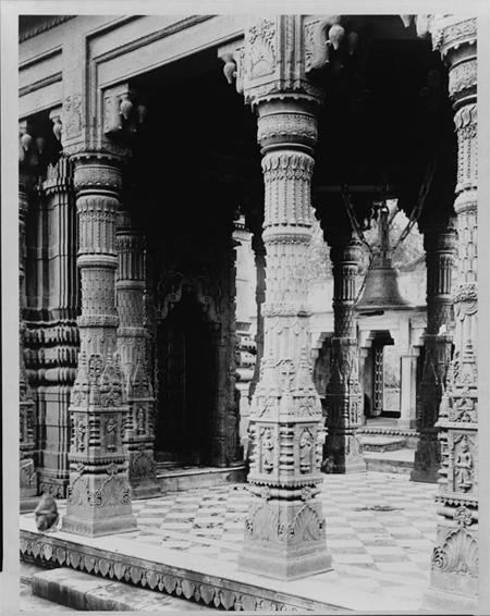 India--Benares--Monkey Temple
