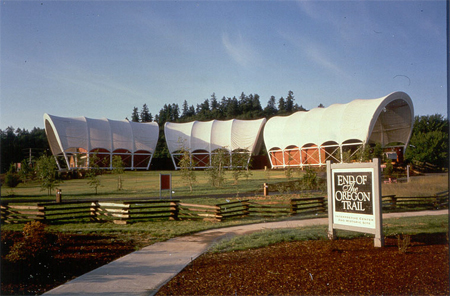 End of the Oregon Trail Interpretive Center