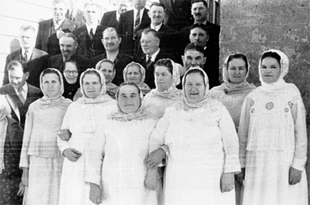 Russian Molokan congregation
