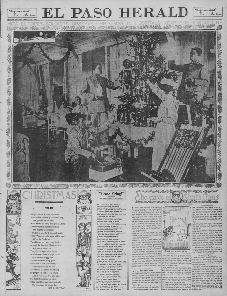 Featured image el paso herald 1915 christmas page tps for El paso america