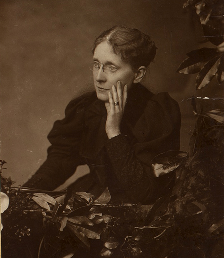 Frances Willard, half-length portrait